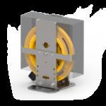 Immagine del limitatore di velocità centrifugo per ascensori RC.