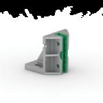 Immagine del pattino fisso in alluminio di tipo BPS T259.1.