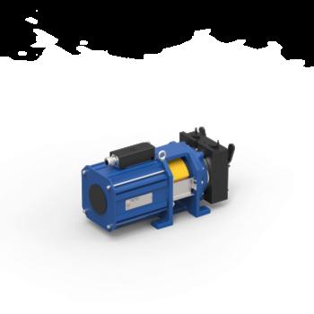 Immagine del gearless con puleggia centrale MGX19.