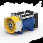 Immagine del gearless con e senza sala macchine MGV34ML.