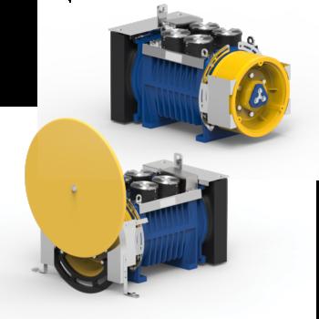 Immagine del gearless machine room machine roomless MGV34L.